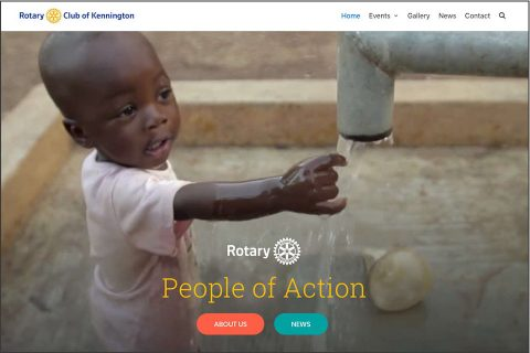 Rotary Club of Kennington website